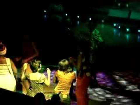 Revellers at Club Afrique, on of the best rhumba clubs in Nairobi