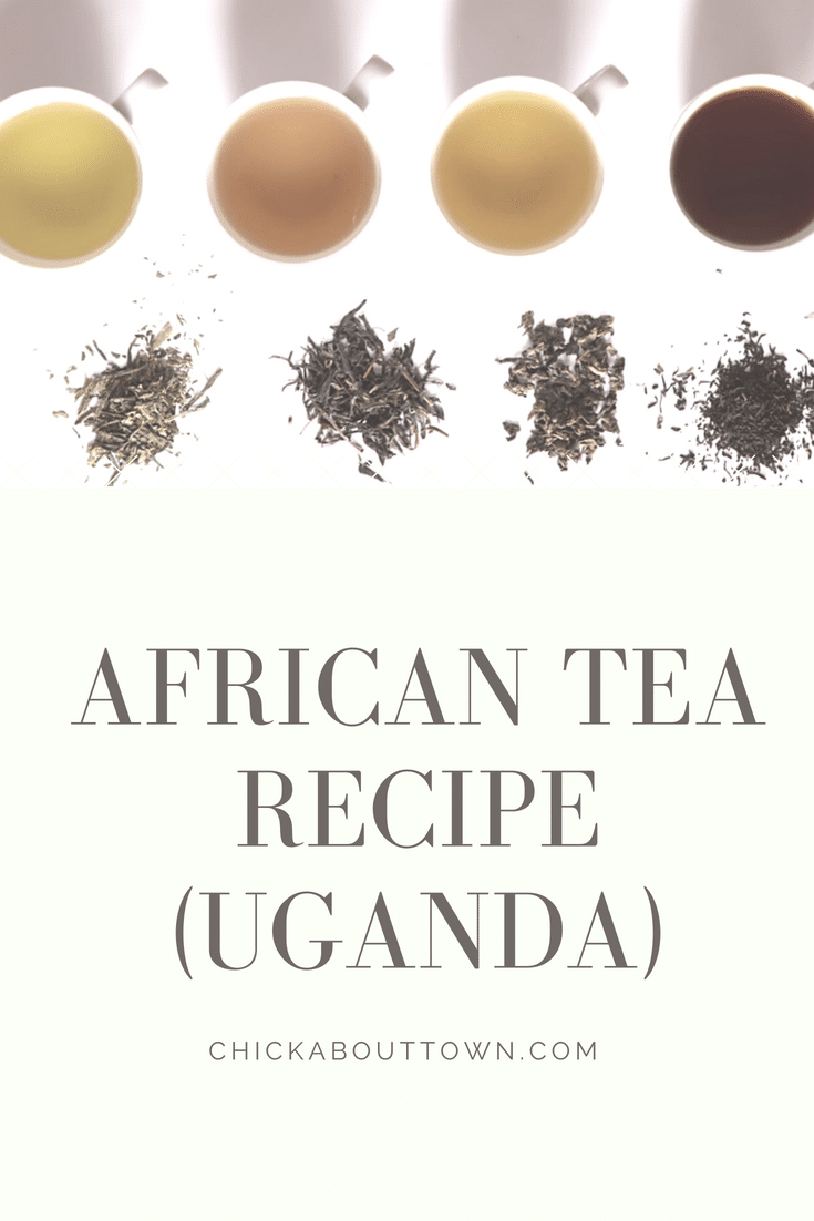 African Tea ReCIpe (Uganda) - Faded Wedding Style Pin