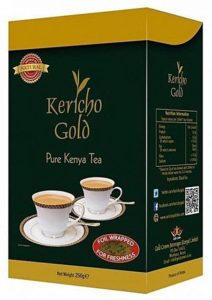 Kericho Gold Pure Kenya Tea  can be used to make osang tea (Equatorial Guinea)