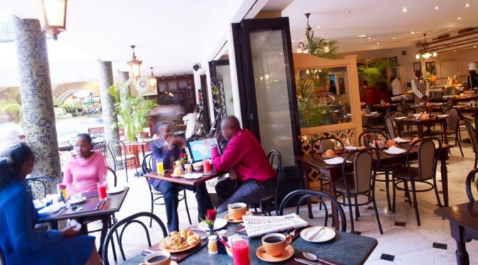 Sarova Hotels -The Thorn Tree Cafe - Sarova Stanley