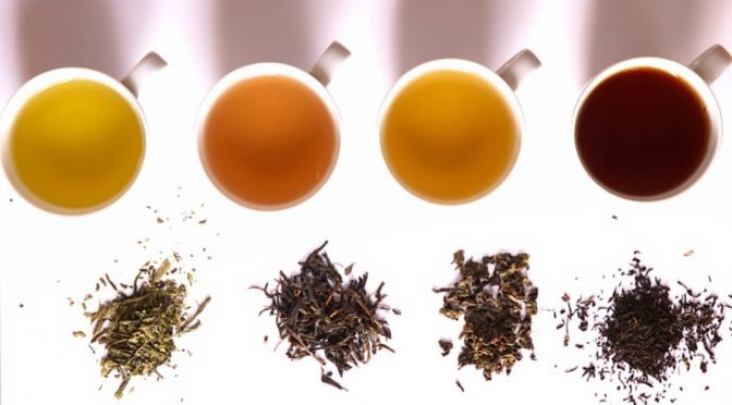 African Tea Recipe: Tea Leaves with the Tea they make