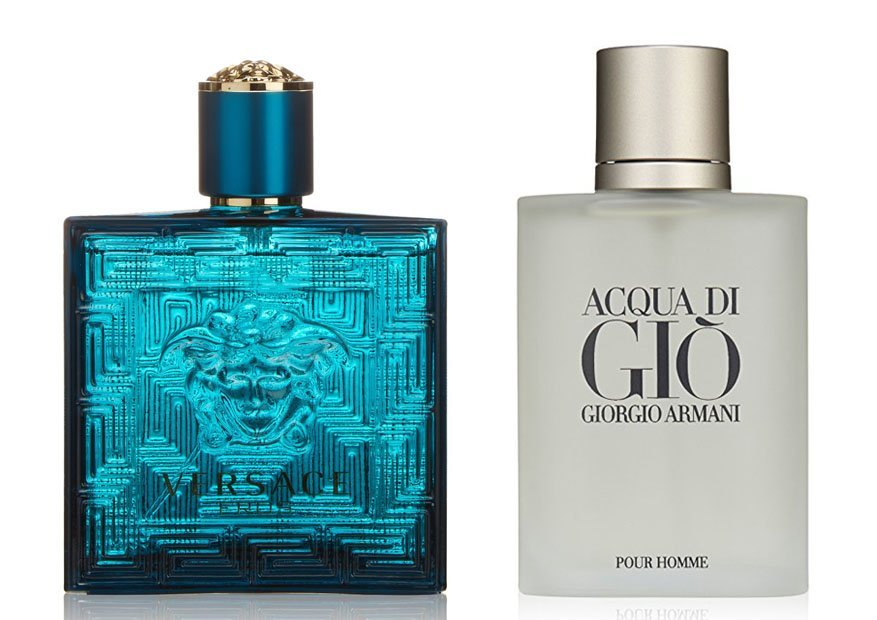 Acqua di Gio and Versace Eros