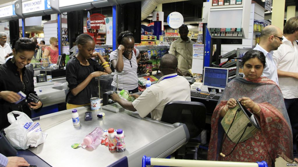 Checkout counter nakumatt