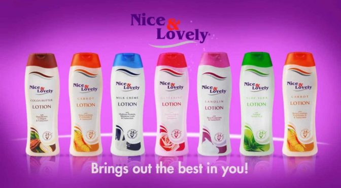 Nice and Lovely lotions
