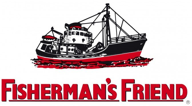 Fisherman's Friend or fisherman friends or fishermans friend logo