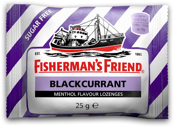 Fisherman Friends / Fisherman's Friend Blackcurrant Sugar Free