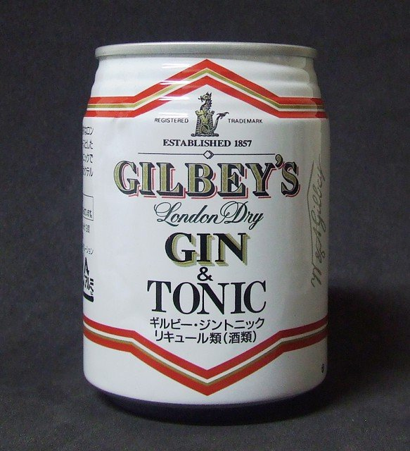 Gilbey's Gin and Tonic