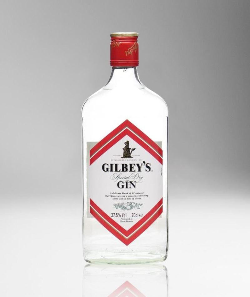 Gordons vs Beefeater: a bottle of Gilbey's Gin