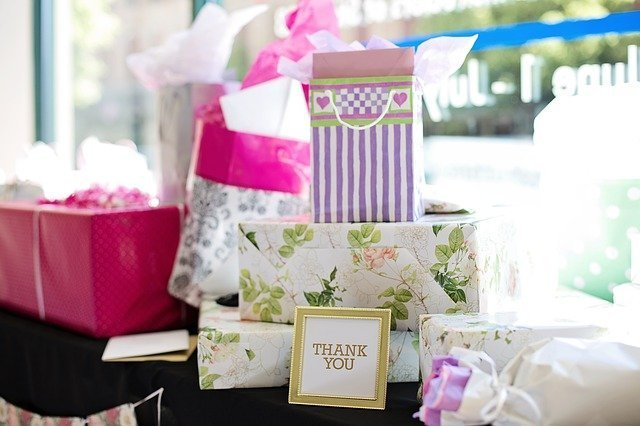 Baby shower venues Nairobi: Gifts