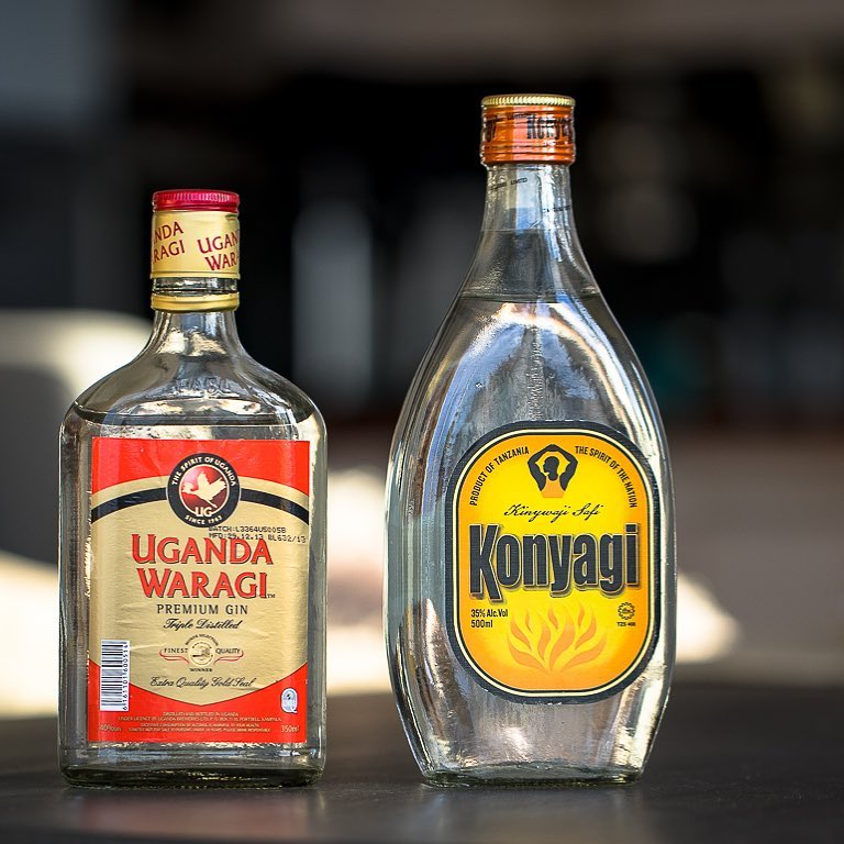 Konyagi and uganda waragi