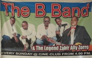 B Band on Sundays at Cine Club, Dar es Salaam, Tanzania