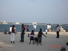 Beach at Cine Club, Dar es Salaam, Tanzania