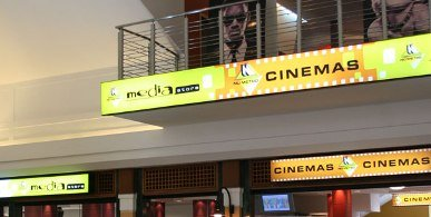 Nu Metro Cinemas exist at the Juntion Mall and the Village Market Cinema