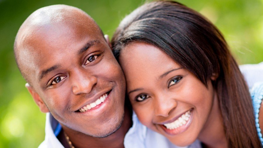 East African men - East African couple