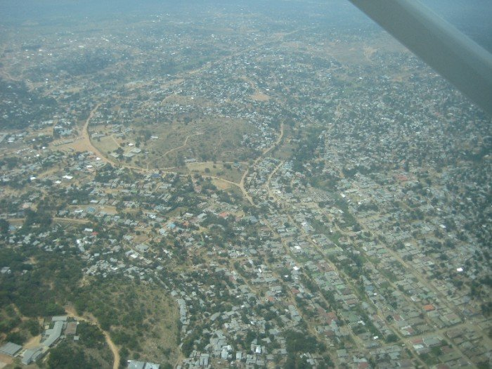 Aerial View of Mwanza