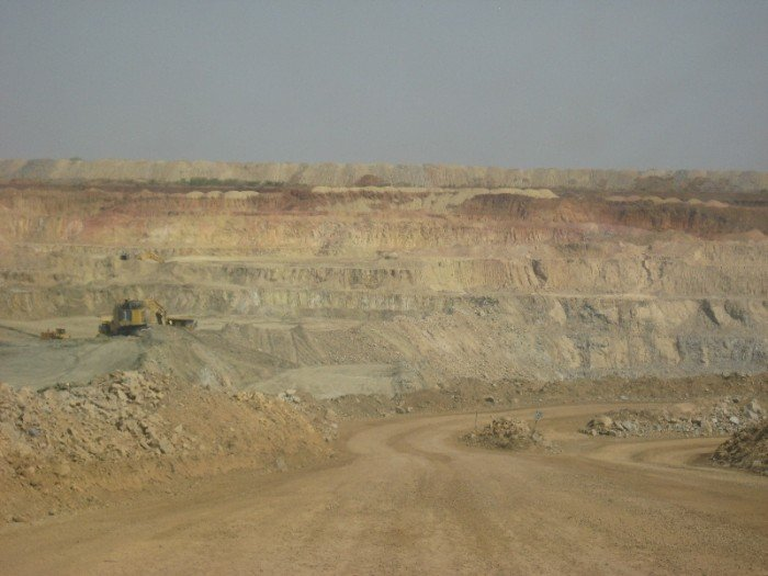 Into the African Barrick Gold Buzwagi Mine