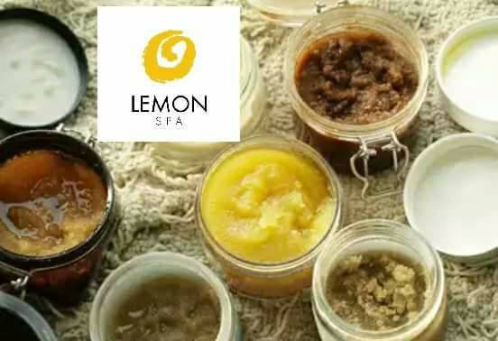 Nail treatment scrubs Lemon Spa