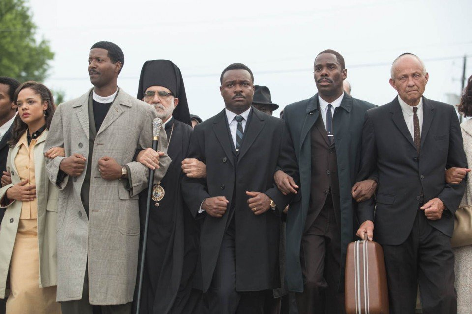 Protest scene in Selma movie