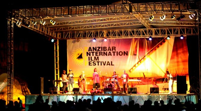 Musicians at Zanzibar International Film Festival (ZIFF)