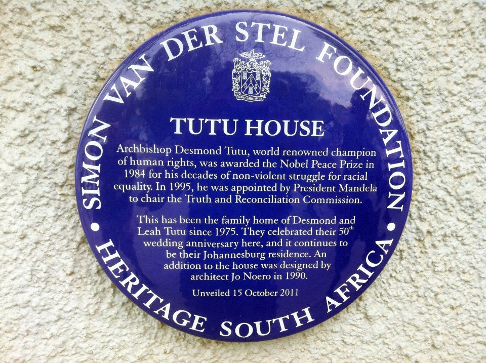 Tutu House Plaque