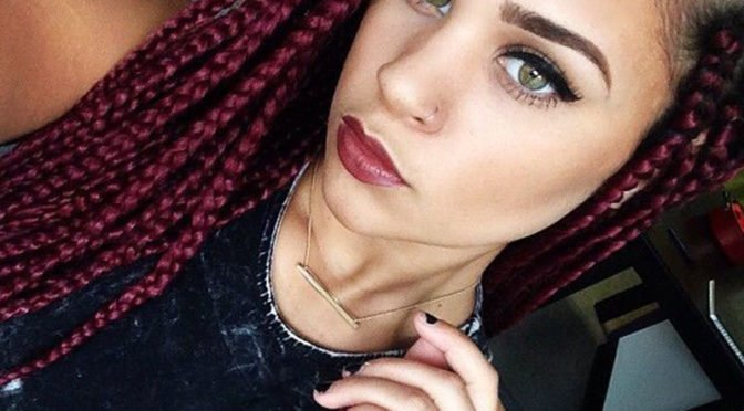 Maroon Braids & 4 Other Great Maroon Hair Styles
