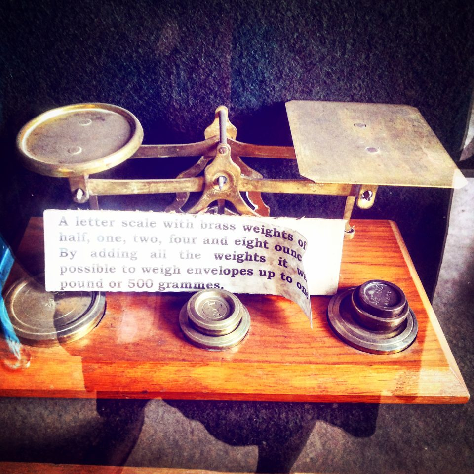 Letter Scales, Nairobi Railway Museum