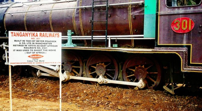 Instagram Fave No. 24: A Former Tanganyika Railways Train at the Nairobi Railway Museum