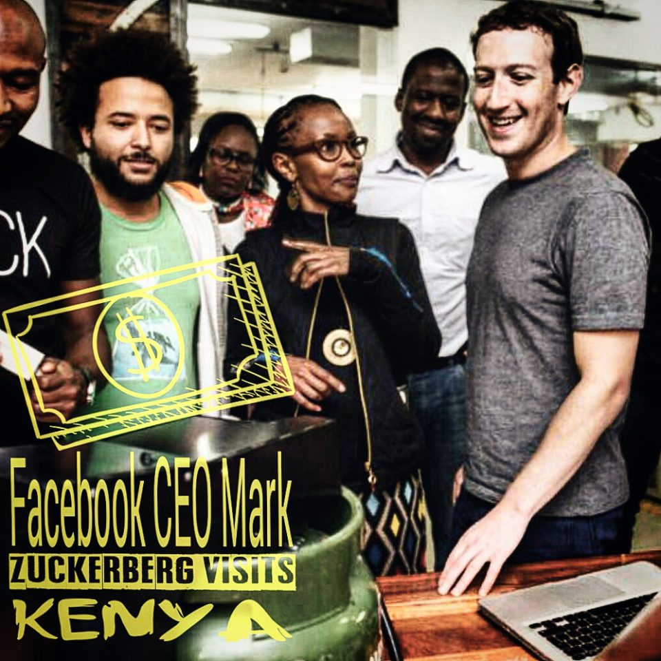 Mark Zuckerberg Visits Kenya
