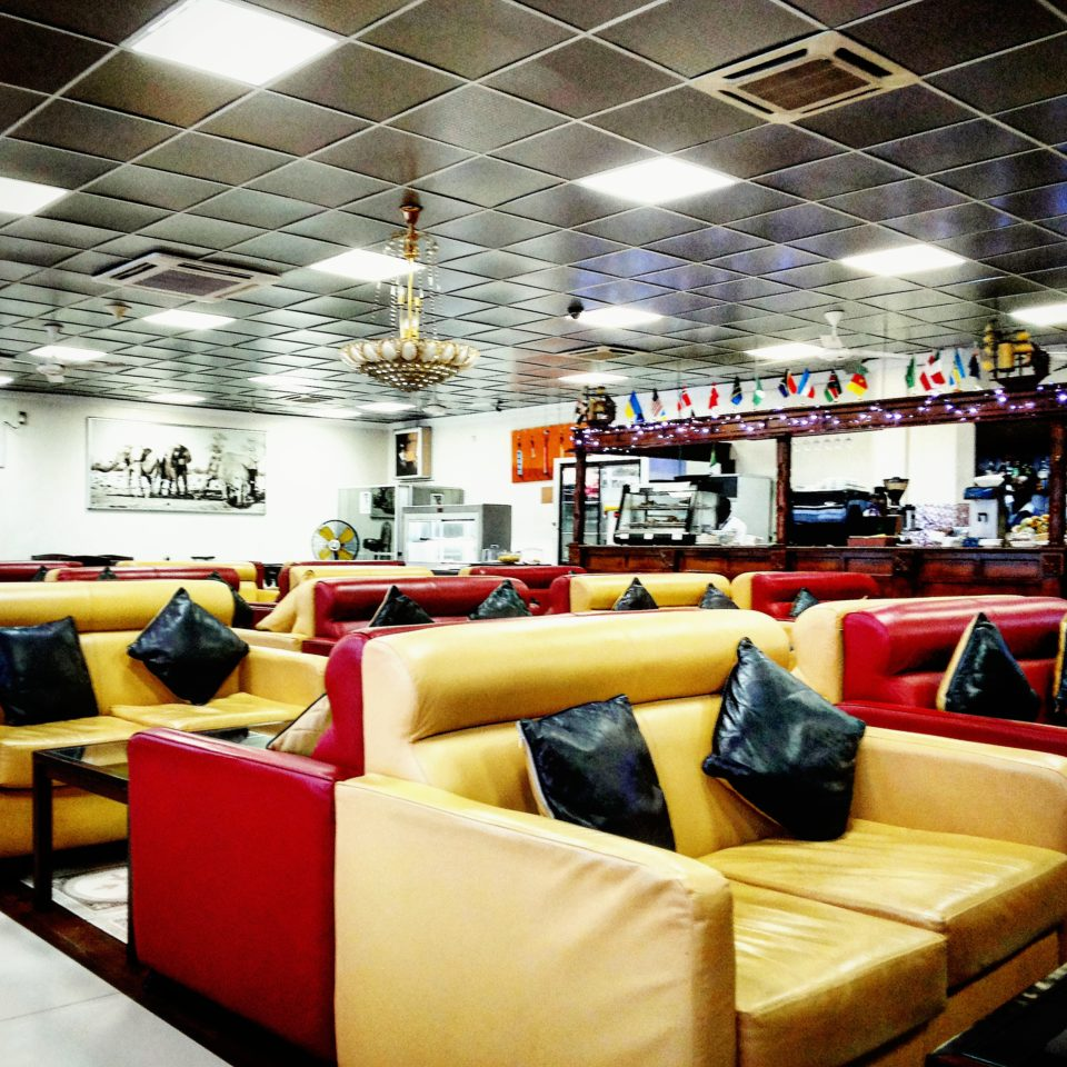 The VIP Lounge at Julius Nyerere International Airport, Dar es Salaam