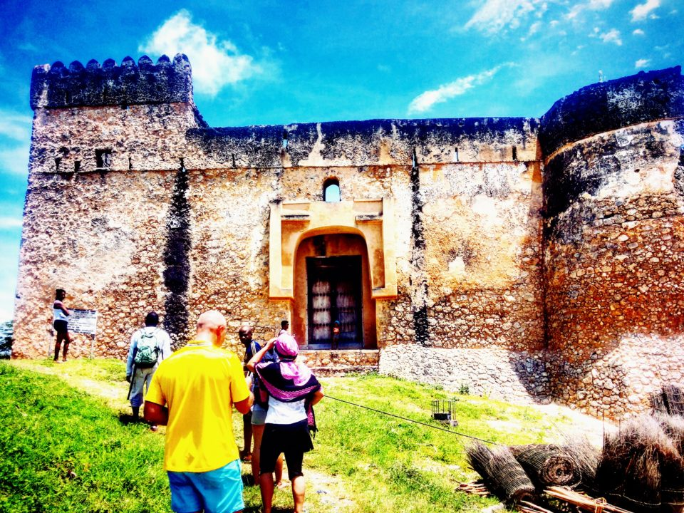 The Fort at Kilwa Kisiwani