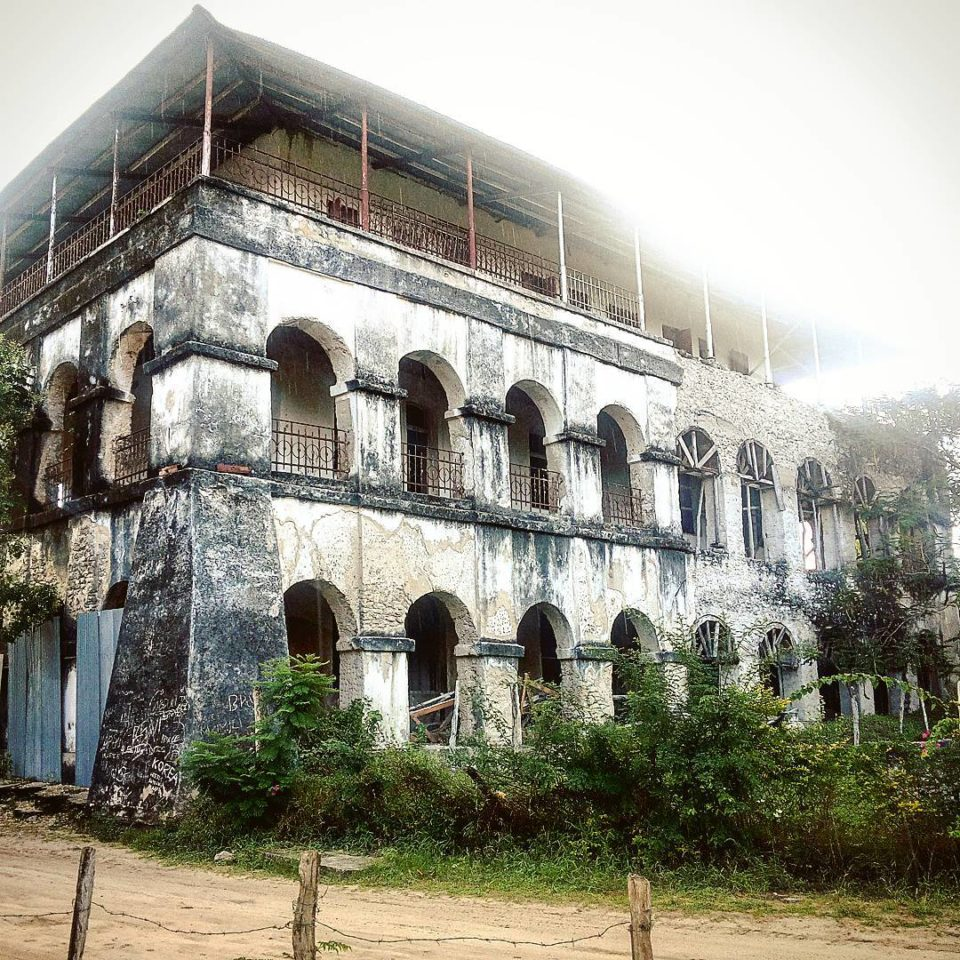 Old Father's House, Holy Ghost Mission, Bagamoyo, Tanzania not Holy Crepe Kololo