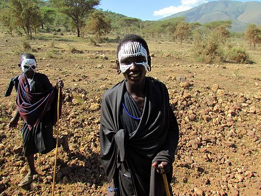 Maasai Initiates in the Ngorongoro Crater, Tanzania