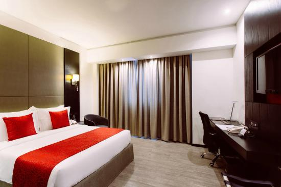 Full view of a room at ONOMO Hotel Dar es Salaam