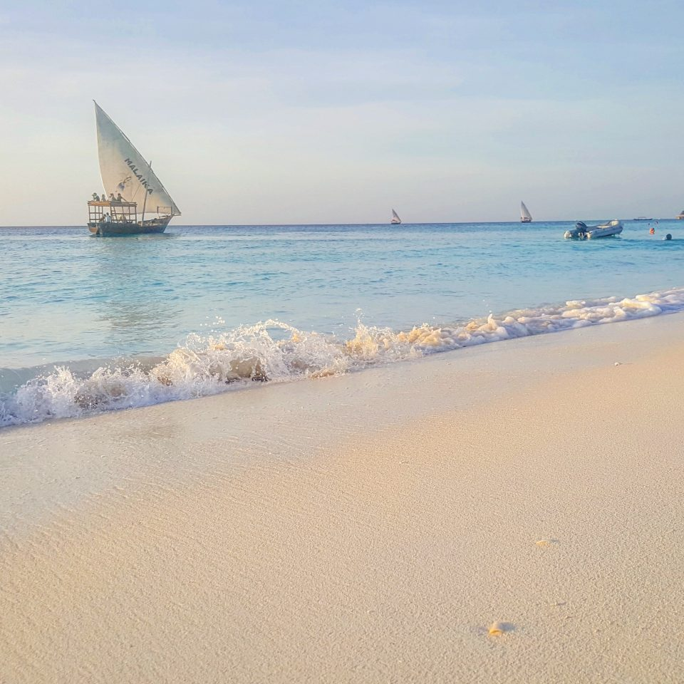 Dhow by Kendwa Rocks