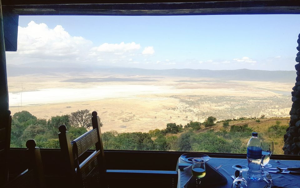 Window View Ngorongoro Serena