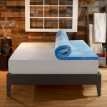 Sleep-Innovations-4-Inch-Dual-Layer-Mattress-Topper-Gel-Memory-Foam-and-Plush-Fiber.-10-year-limited-warranty.-Queen-Size