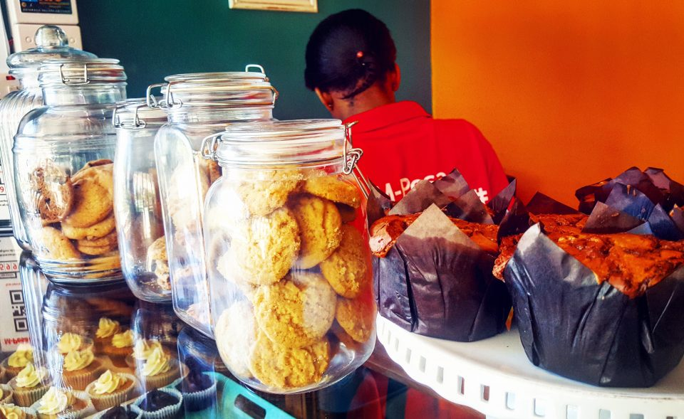 Cookies and muffins at Soul Treats Bakery in Dar es Salaam, Tanzania