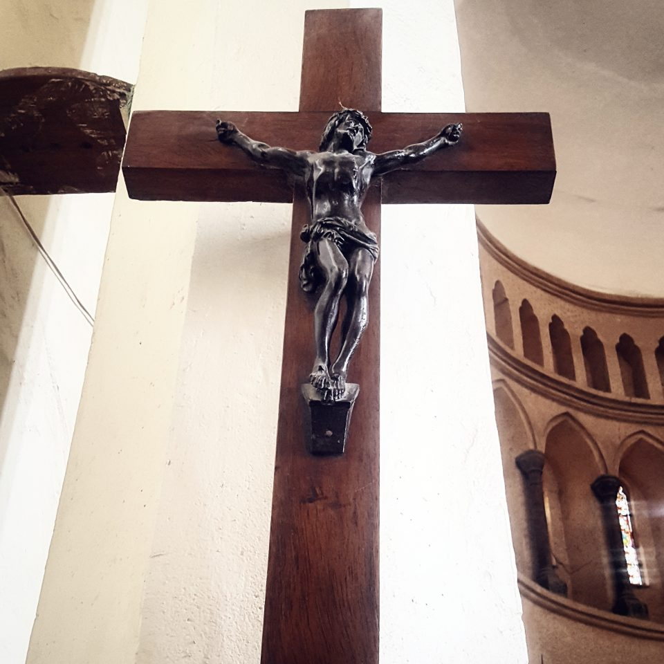 Cross in Church, Zanzibar