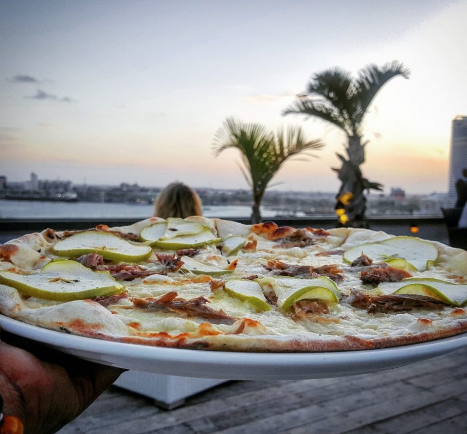 Pizza at Hyatt Regency, The Kilimanjaro Dar es Salaam