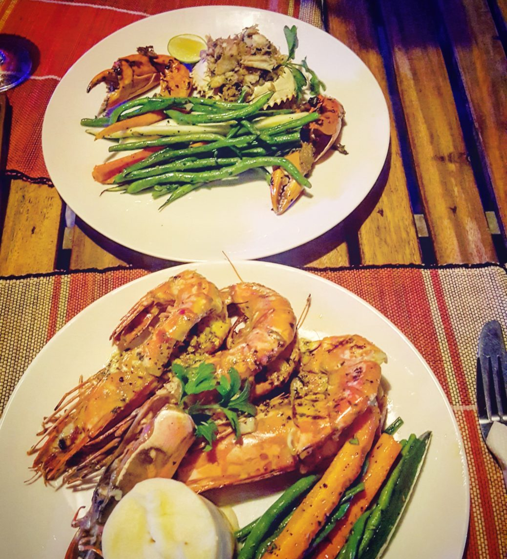 Prawns and Crab, G'eez Hangout