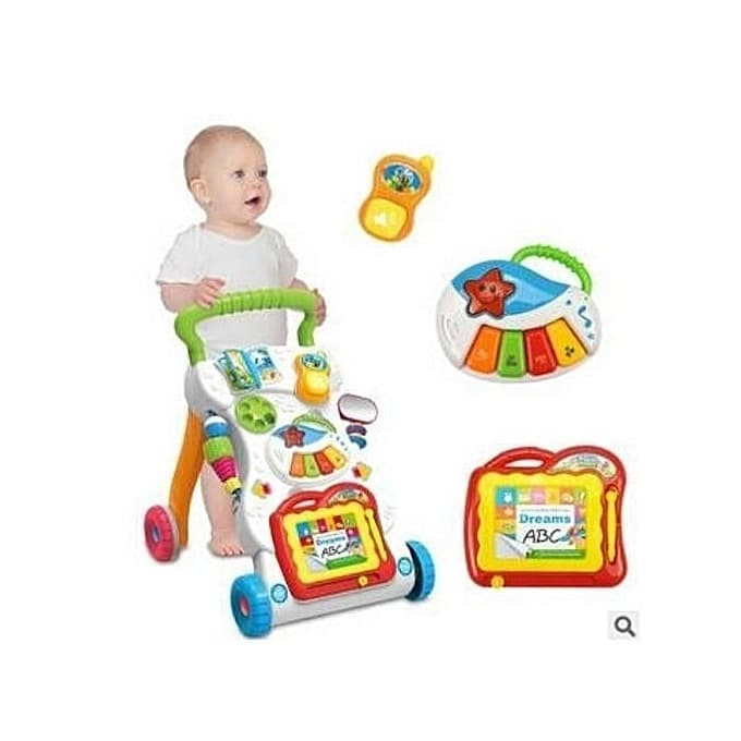 Baby Walker - Musical Push and Play