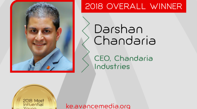 Darshan Chandaria Influential Young Kenyans