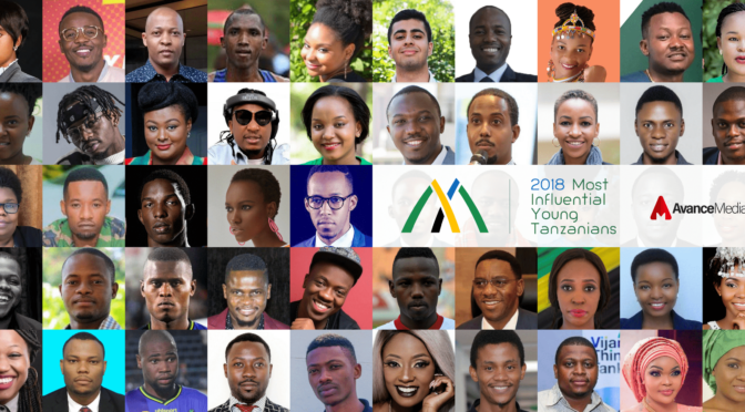 And the Most Influential Young Tanzanian of Last Year Was…