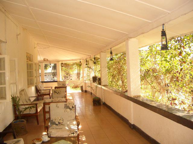 Balcony at Mama Pierina's in Morogoro