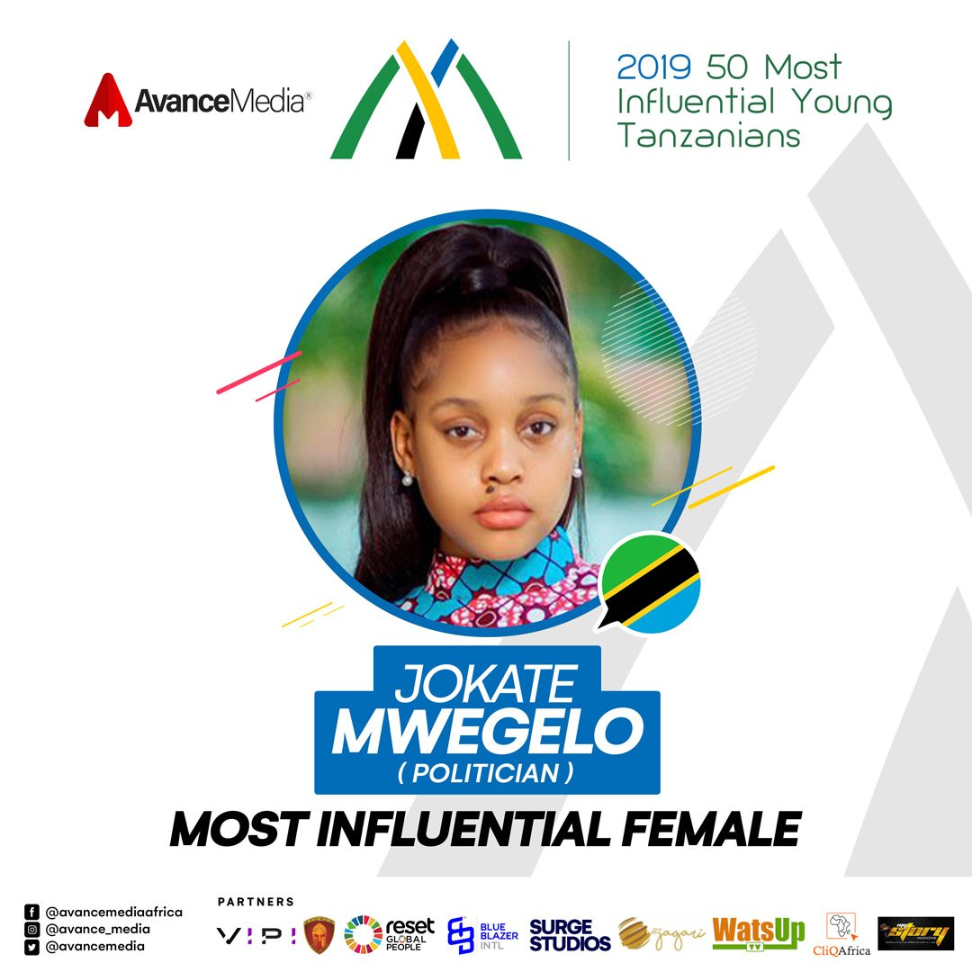 Most Influential Female - 2019 50 Most Influential Young Tanzanian